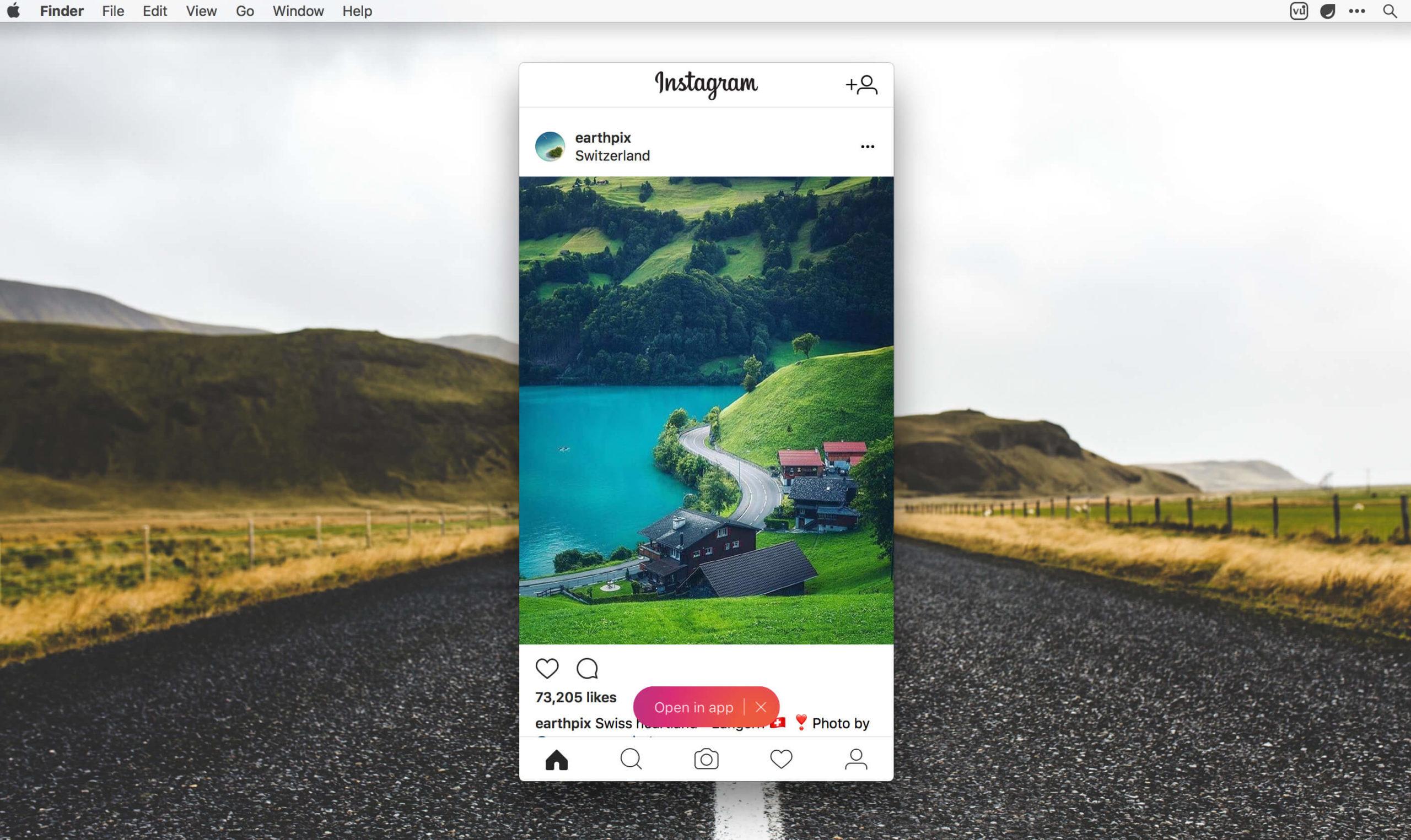 Vu Instagram app for desktop - manage multiple Instagram accounts